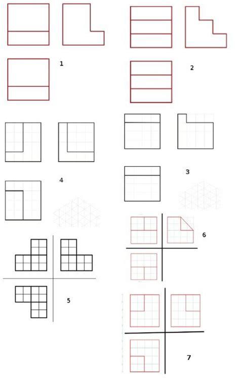 Piezas Perspectiva Isometrica con Soluciones dadas 3 Vistas