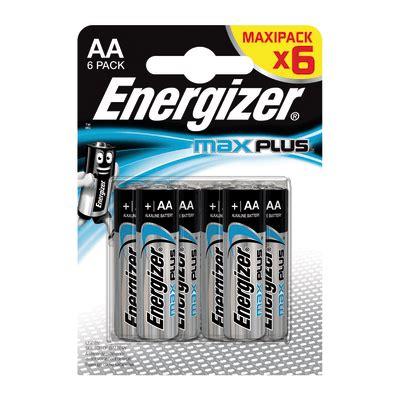 Pila AA ENERGIZER Max Plus BP6 6 batterie prezzi e offerte ...