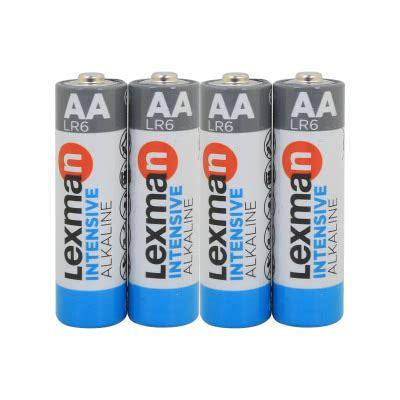 Pila alcalina AA LEXMAN 844996 4 batterie. Prezzo online ...