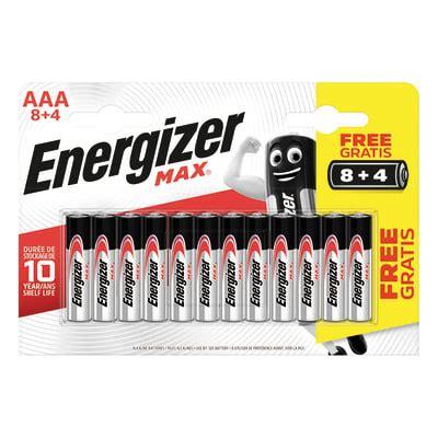 Pila alcalina AAA ENERGIZER 12 batterie. Prezzo online ...