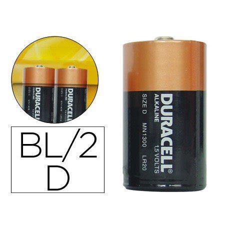 Pila alcalina Duracell D  21669    20milproductos