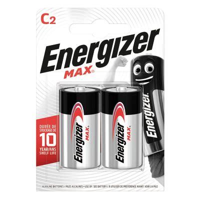 Pila alcalina LR14 C ENERGIZER 2 batterie prezzi e offerte ...