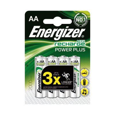 Pila ricaricabile AA ENERGIZER Recharge 4 batterie. Prezzo ...