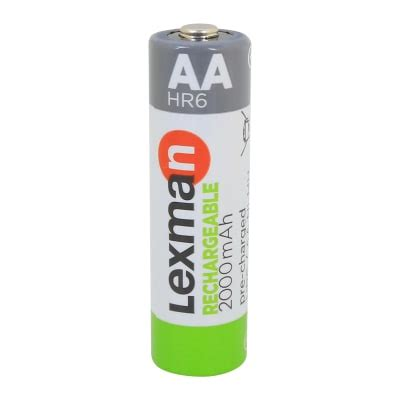 Pila ricaricabile HR6 LEXMAN 844976 4 batterie prezzi e ...