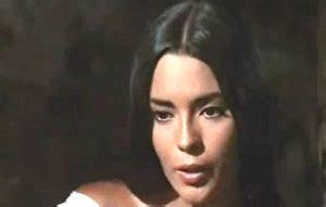 Pilar Velazquez as Sorita in Sentence of God.  1972 ...