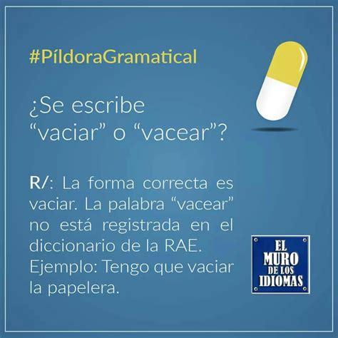 Píldora gramatical. | Lenguaje español, Diccionario de la ...