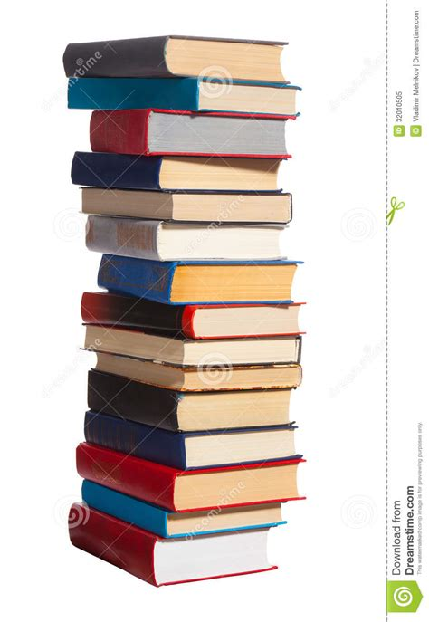 Pile of books stock image. Image of culture, library ...