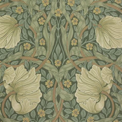 Pimpernel Wallpaper Privet/Slate  210389    William Morris ...