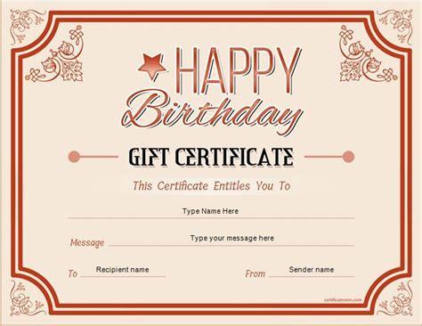 Pin by Alizbath Adam on Certificates | Gift certificate ...