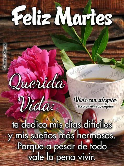 Pin by Carmen on saludos y despedidas   Happy tuesday ...