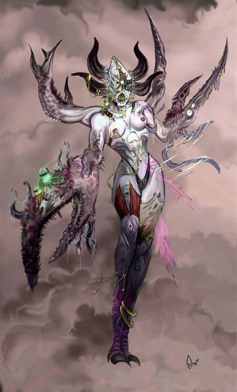 Pin by Equilibrium on Slaanesh: Chaos God wh40k ...