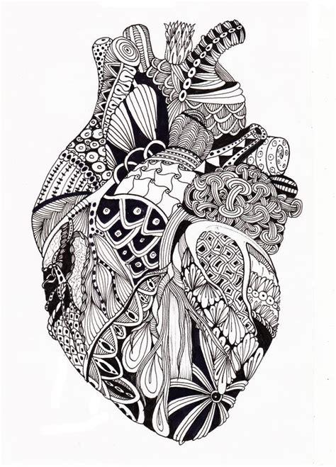Pin by Menna F. Ahmmeed on mandala | Heart drawing, Heart ...