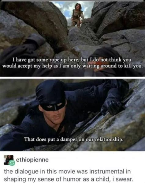 Pin by Miquah on Lol in 2020 | Princess bride, Humor, Laugh