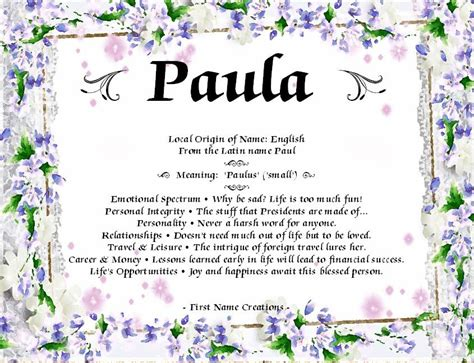 Pin by Paula Phillips on Family | Names with meaning ...
