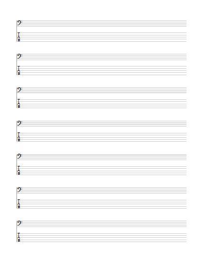 Pin by Sabrina Seigal on bass guitar   Bass guitar sheet ...