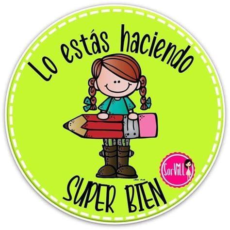 Pin de cristina en DIBUJOS | Mensajes para niños, Refuerzo ...