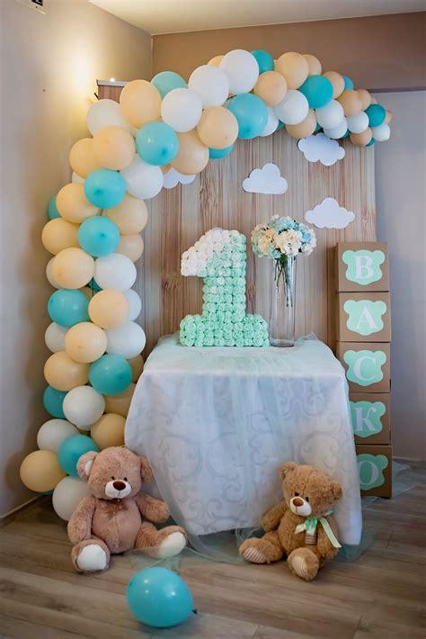 Pin de Joha en Birthdays   Decoración de oso, Decoraciones ...