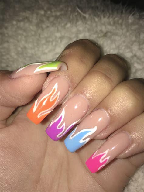 Pin de Kelly nicolle en Diseños de uñas   Uñas acrílicias ...