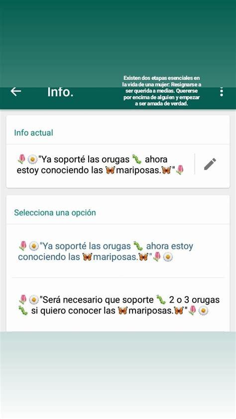 Pin de Mariangel en estados | Frases para whatsapp, Frases ...