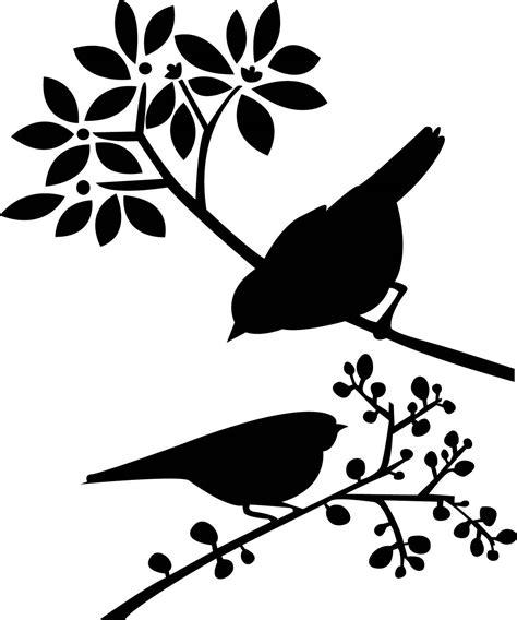 Pin de Memé en Birds   Silueta de aves, Estarcido