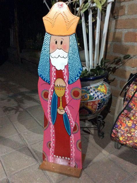 Pin de norelis perez en Navidad | Madera pintada, Madera ...