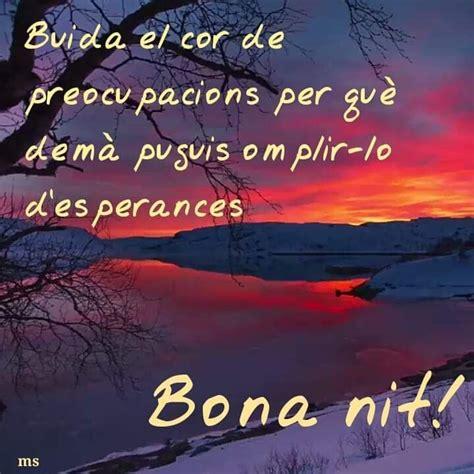 Pin de Rosa en Bona nit | Buenas noches en catalan, Buenos ...