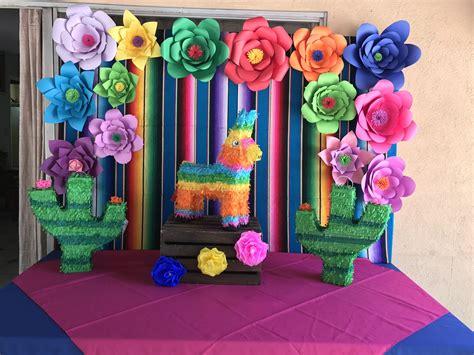 Pin de Rosalia Lanuza en Fiesta mexicana   Decoracion ...