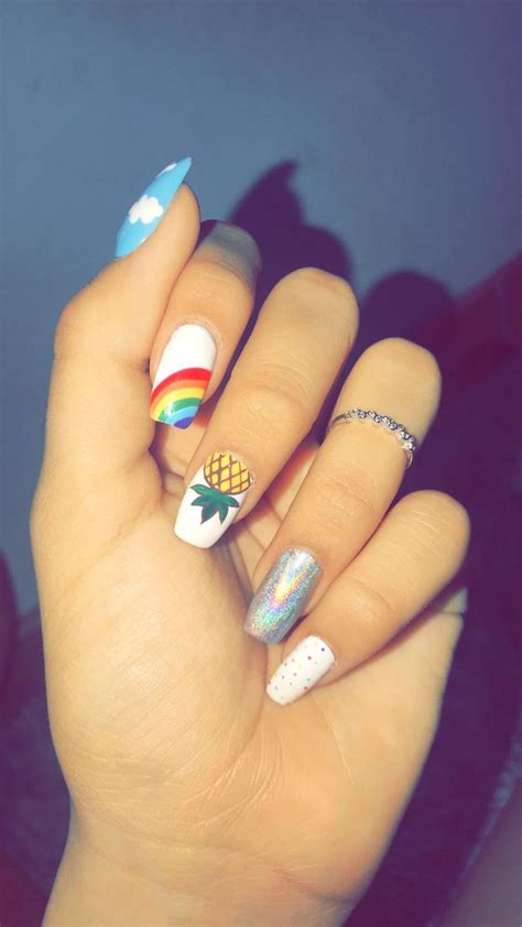 Pin de Tatys Villegas XD en Uñas   Manicura de uñas ...