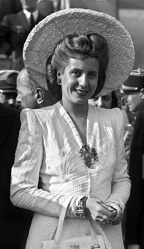 Pin en Eva  Evita  Perón