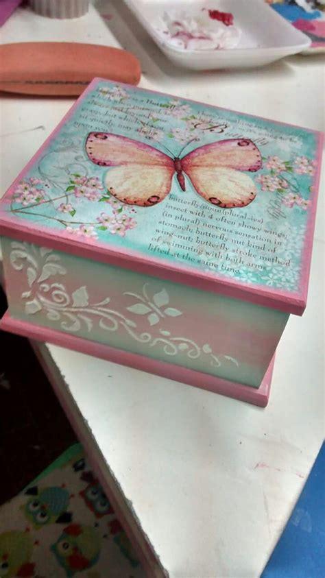 Pin en Girls keepsake boxes