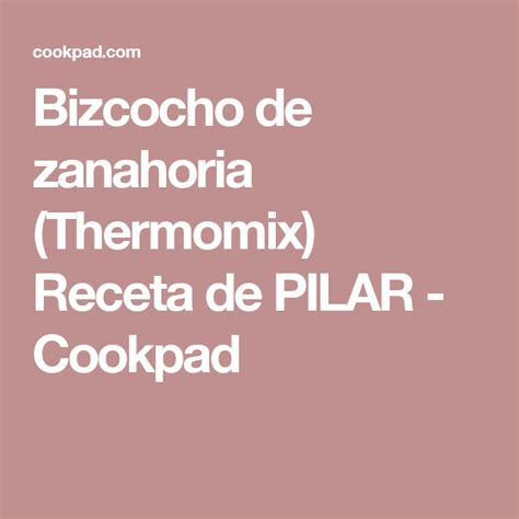 Pin en Thermomix