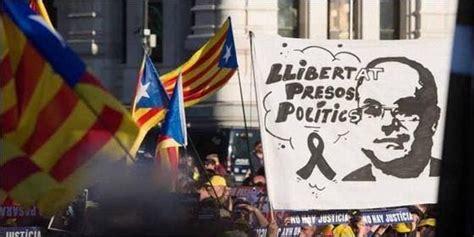 Pinchazo del independentismo catalán: solo reúnen a 18.000 ...