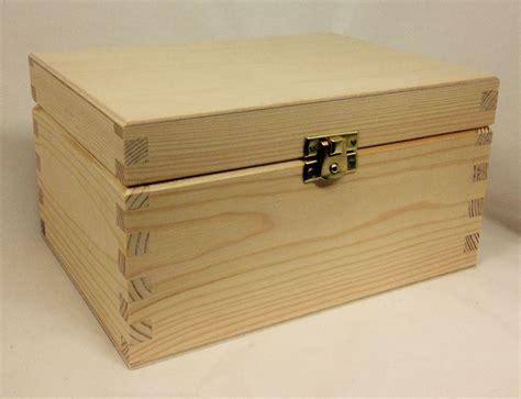 Pine Wood Storage Box   Extra Large