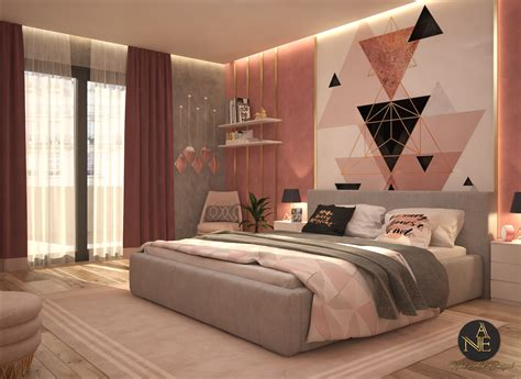 Pink Bedroom   Interior Designio