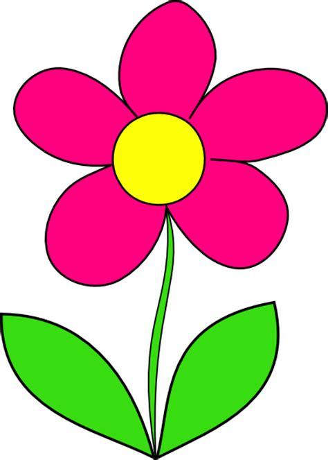 Pink Flower Clip Art at Clker.com   vector clip art online ...