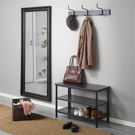 PINNIG Colgador con 3 ganchos, negro   IKEA