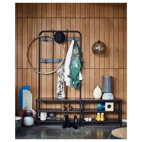 PINNIG Perchero+banco zapatero   negro   IKEA
