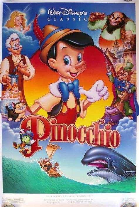 Pinocchio Walt Disney Movie Poster 4   Disney Movies ...