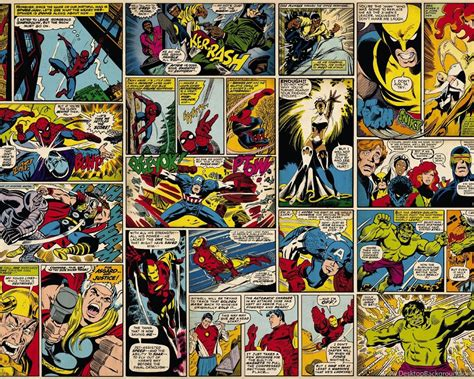 Pins For: Marvel Comic Book Wallpapers From Pinterest ...