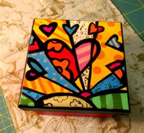 Pintada a mano | Cajas pintadas, Cajas de madera pintada ...