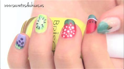 Pintado de uñas frutales   YouTube