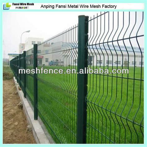 pintado de verde 3d cercas de malla soldada Vallas, rejas ...