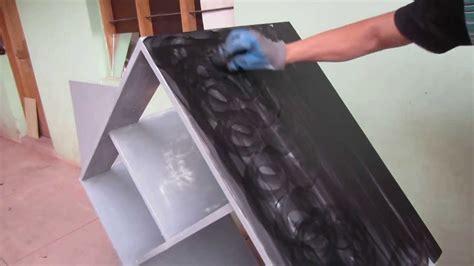 PINTANDO Mueble Color Negro En Aglomerado Facil Paso A ...
