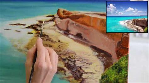 Pintar al óleo paisajes paso a paso   con Di Carvalho ...