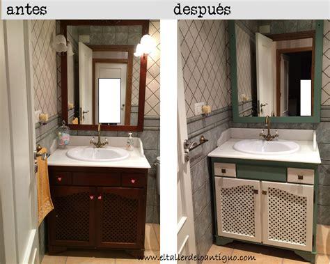 Pintar mueble de baño   **El Taller de lo Antiguo