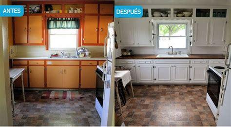 Pintar muebles de cocina. Antes y después, fotos y consejos