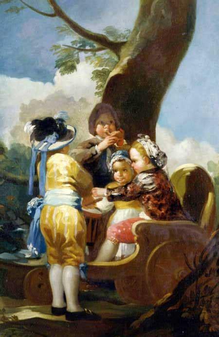 pintor goya cuadros   niños   Pintores Españoles ...