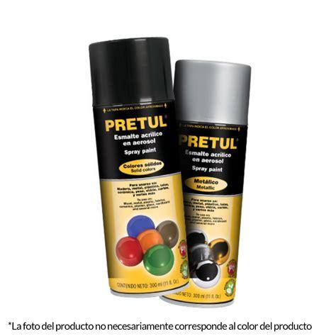 Pintura aerosol metálica cromo Pretul   JINSA Ferretería ...