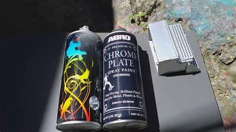 Pintura cromo en aerosol   como protegerla    YouTube