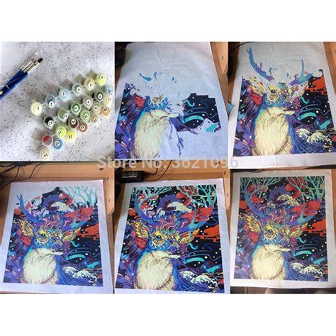 Pintura de colores por números, imagen para la decoración ...